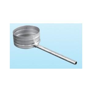 pot de condensation avec écoulement latéral