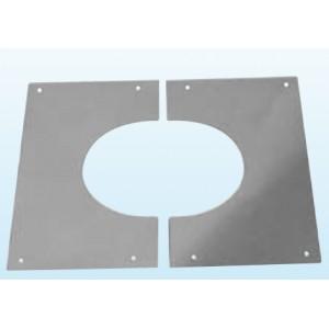 Plaque de finition en 2 parties sous toiture jusqu'à 45° Précisez la pente - DWSERVICES - Auto ...