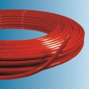 Tube multicouche rouge en couronne 16 x 2 - 200 m