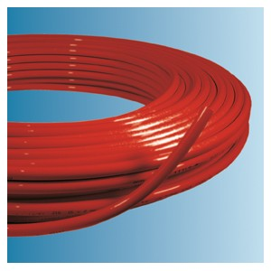 Tube multicouche rouge couronne 16 x 2 - 200 m