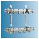 Collecteur H2 pour chauffage 2 circuits/140 mm