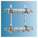 Collecteur H6 pour chauffage 6 circuits/340 mm